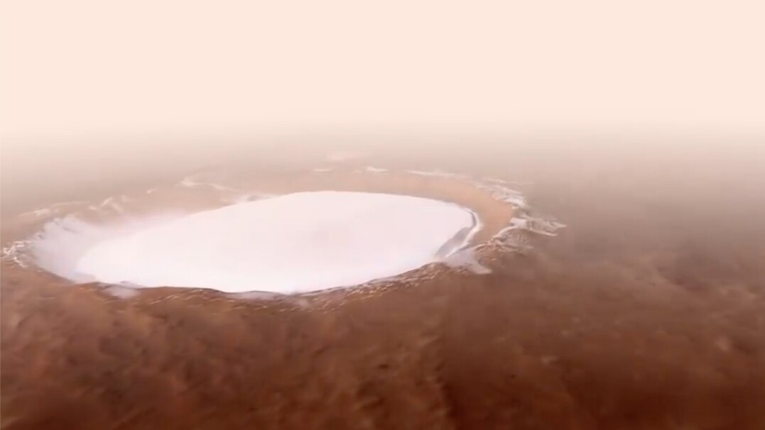Tak wygląda Mars. Europejska Agencja Kosmiczna zaprasza na wirtualne zwiedzanie Krateru Koroleva