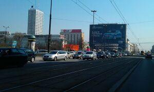 Raport stołecznej drogówki: najniebezpieczniej w Jerozolimskich