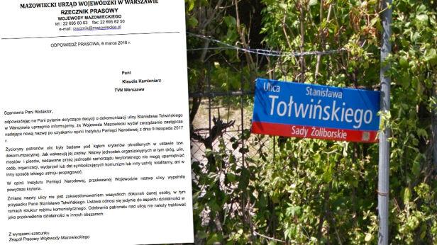 Kontrowersje wokół dekomunizacji na Żoliborzu tvnwarszawa.pl