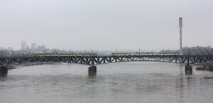 Pociągi na moście przyspieszą do 60 km/h