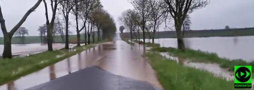 Alarm powodziowy, pożar od pioruna. Środowe burze zapamiętamy na długo