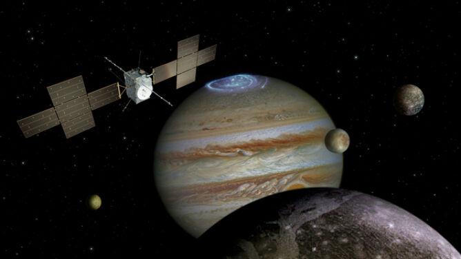 Zbada Jowisza i jego księżyce. <br />Polski wkład w budowę satelity
