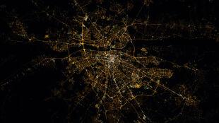 Warszawa z Kosmosu. Astronauci z ISS wysłali polskim naukowcom zdjęcia stolicy