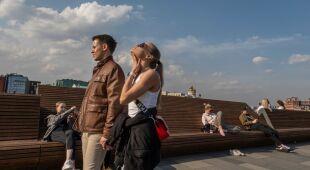 Wyjątkowo ciepło w stolicy Rosji