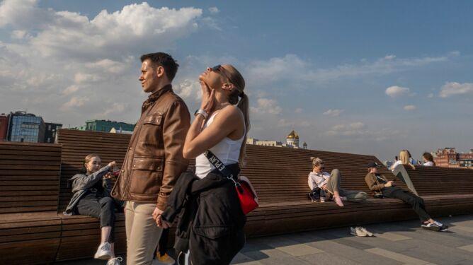 Tak ciepło w Moskwie nie było od 140 lat