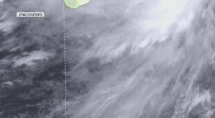 Cyklon tropikalny ma zejść na ląd w przyszłym tygodniu
