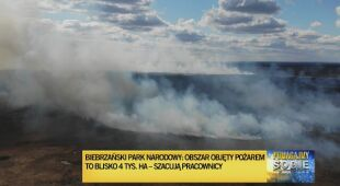 Na pomoc ruszyli strażacy m.in. z Poznania i Krakowa