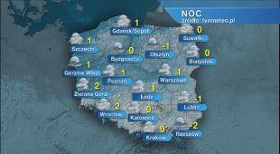 Prognoza pogody na noc 19/20.01