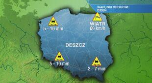 Warunki drogowe w czwartek 21.11