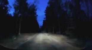 Bolid nad Polską. Nagranie pana Waldemara z 29.01 około godz. 7